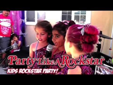 Kids Rock Star Karaoke Party