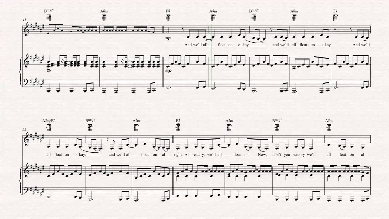 Ukulele float on modest mouse sheet music chords vocals ukulele float on modest mouse sheet music chords vocals hexwebz Image collections