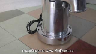 Машина для производства порошка www.MiniPress.ru