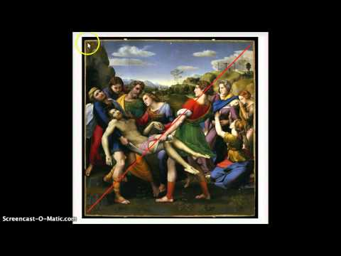 "Raphael ""Deposition of Christ"" Composition Analysis"