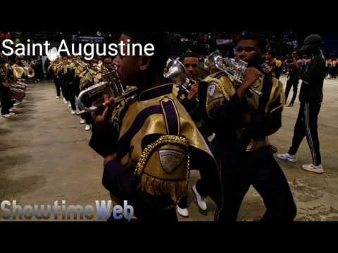Bands Marching In - 2017 New Orleans BOTB