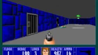 Wolfenstein 3D - E1M1
