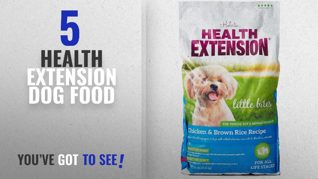 Top 5 Health Extension Dog Food 2018 Best Sellers Health
