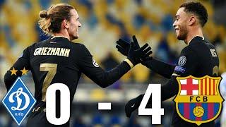 Dynamo Kyiv vs Barcelona [0-4], Champions League, Group Stage 2020/21 - MATCH REVIEW