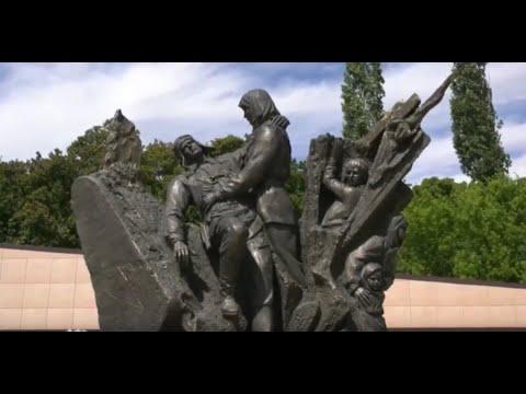 В Семилуках открыли памятник Прасковье Щёголевой, совершившей  подвиг во время ВОВ