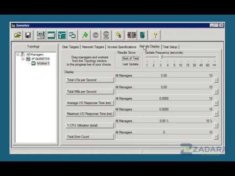Comparison Video: IOMeter Benchmark Zadara Cloud Block Storage vs Amazon Elastic Block Storage EBS