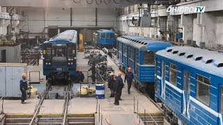 Комунальний патруль: ремонт вагонів метро