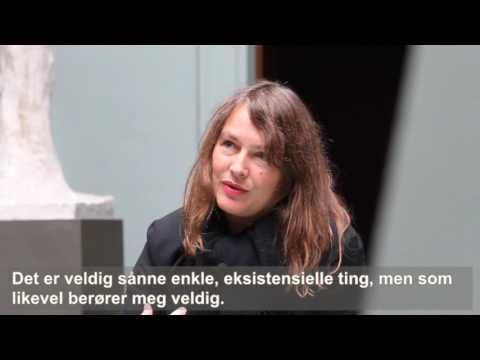 """Charlotte Thiis-Evensen om Vigeland og videoverket """"Gre hår"""""""