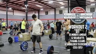 "Rich Froning & Angelo Dicicco - Grand Opening Hero Workout ""DT"""