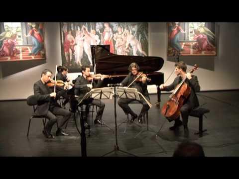 Ébène Quartet & Nikita Mndoyants: Brahms - Piano quintet f minor, op.34