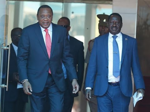 """Angry President Uhuru shouts, """"Raila too is a Kenyan""""   Morning Express Discussion"""
