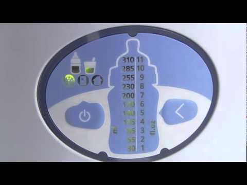 How To Use Philips Avent Digital Bottle Baby Food Warmer Youtube