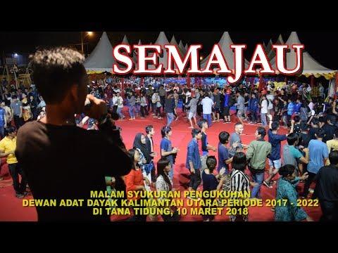 Heboh!!! Tarian SEMAJAU bersama Masyarakat Adat DAYAK Kalimantan Utara di Tana Tidung