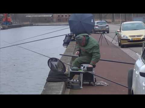 Difficult match fishing in Holland