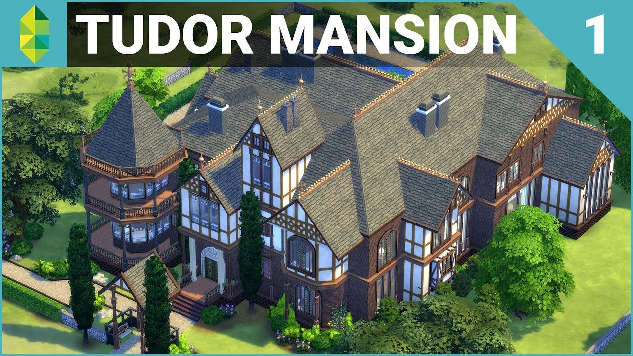 Tudor MANSION 64x64! (Furnish Part 1) | The Sims 4 House Building