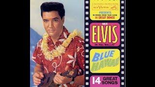 "CD14: ELVIS COLLECTION ALBUM ""BLUE HAWAII"" (CD 14 sur 57 / présentation JMD OFF)."