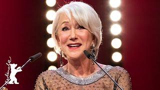 Helen Mirren receives the Honorary Golden Bear | B...