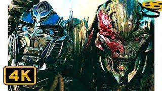 Голос Бамблбии. Оптимус Прайм против Рыцарей Стражей | Трансформеры:Последний рыцарь(2017) IMAX CLIP