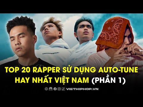 Top 20 rapper sử dụng auto-tune hay nhất Việt Nam   Phần 1