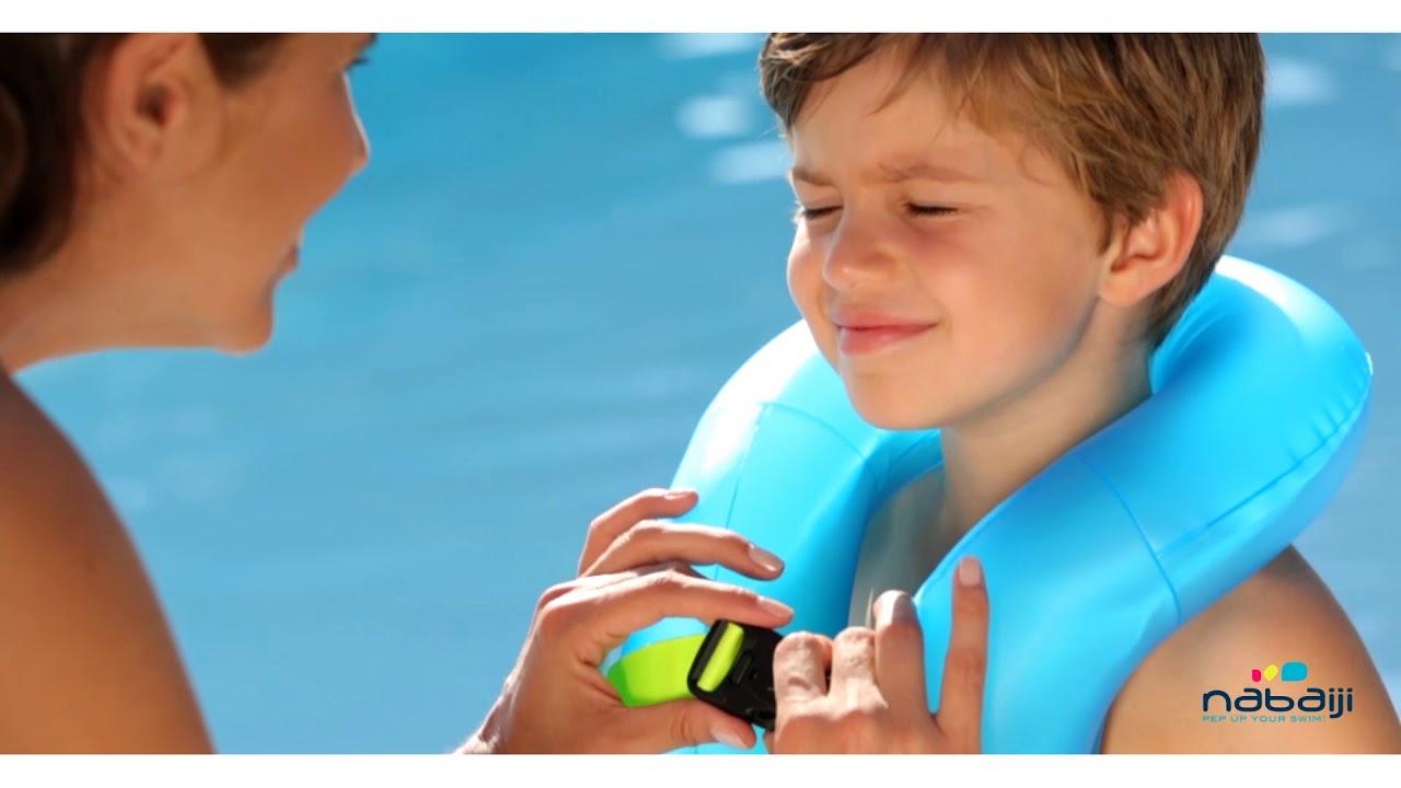 2bbaf58801 Colete de natação inflável Criança (18-30kg) Nabaiji - Exclusividade  Decathlon