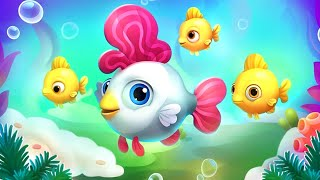 Fishdom - Gameplay Walkthrough Part 1 New Fish (Android,iOS)