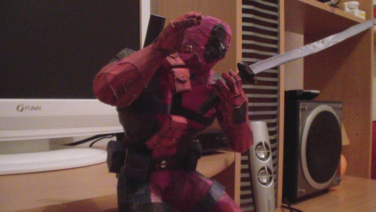 Papercraft Speed Papercraft/Pepakura - Deadpool