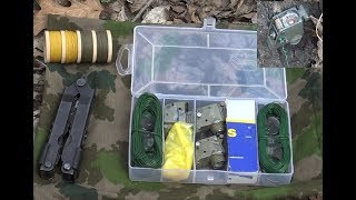 How to make and use a Portable early warning tripwire device