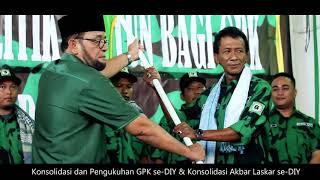 Pengukuhan GPK, dan Konsolidasi Laskar 2018