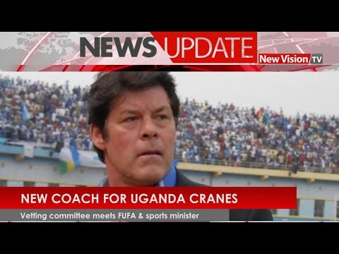 New coach for Uganda Cranes