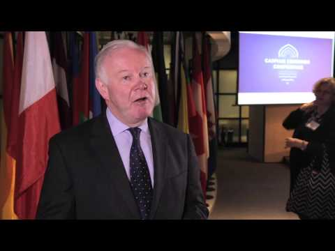 Caspian Corridor Conference 2015: Charles Hendry MP Interview