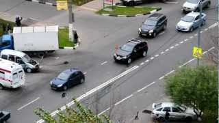 Вертолет в Ясенево авария на Литовском бульваре