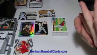 #29- 2010 Topps Series 1 Baseball Cards - 1st Wal-mart Cereal Box Break