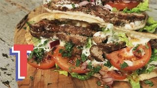 Homemade Lamb Kebabs In Warm Pitta | Good Food Good Times