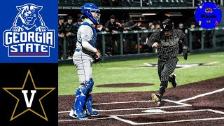 Georgia State vs #3 Vanderbilt Highlights | 2021 College Baseball Highlights
