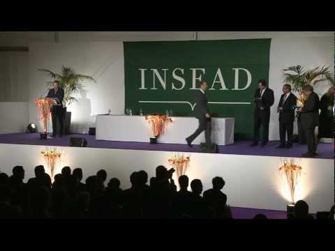 MBA Graduation Ceremony INSEAD Europe Campus Dec 2012