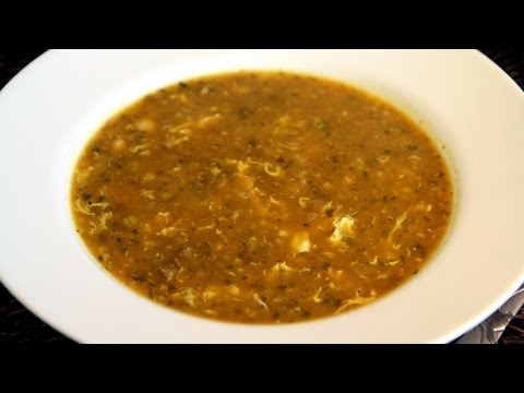 Harira - Moroccan Soup Recipe - CookingWithAlia - Episode 187