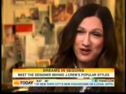 J.Crew Creative Director Jenna Lyons interviewed on the Today Show