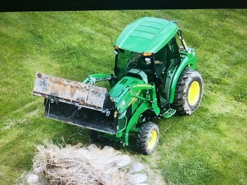 #78 John Deere 3046R Cab Tractor, DJI Mavic Pro 2 Zoom Drone, 4N1 Bucket. 2019 Shrub Bed Cleanup