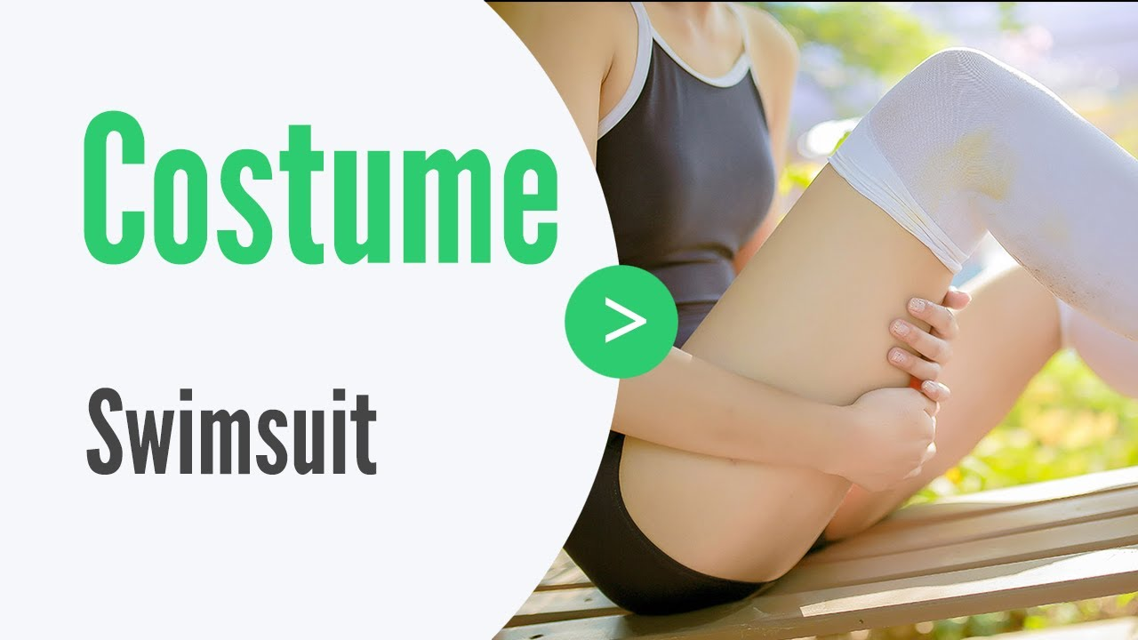 【Costume】how to take photos of swimsuit