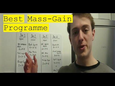 Best Mass Gain Programme