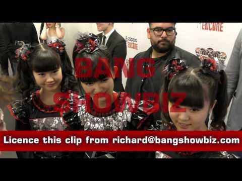 Baby Metal full interview KERRANG! Awards 2016