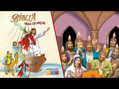 bíblia para crianças vinda do espírito santo youtube
