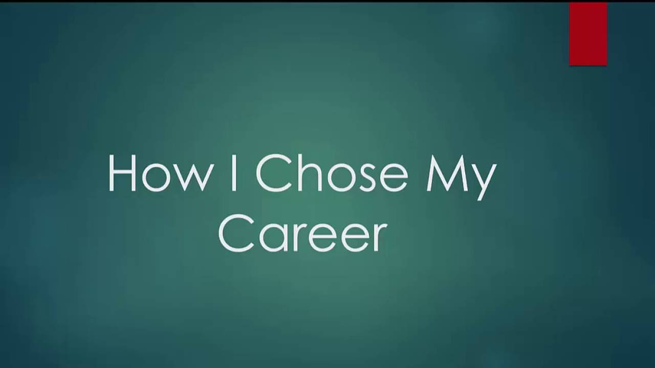 my career choice information technology Information technology (it) allows you to take your career in a number of different directions become a computer network architect, a computer.