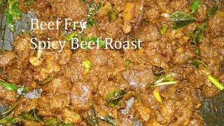 Beef Fry | Dry Beef Roast | Beef Recipe | Beef Fry In Tamil