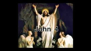 The Holy Bible : JOHN 4 : Full Chapter Audio with Text in Description