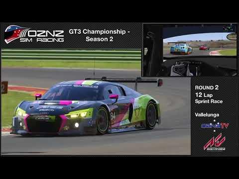OZNZ Sim Racing GT3 Championship S2 Round 2 Sprint