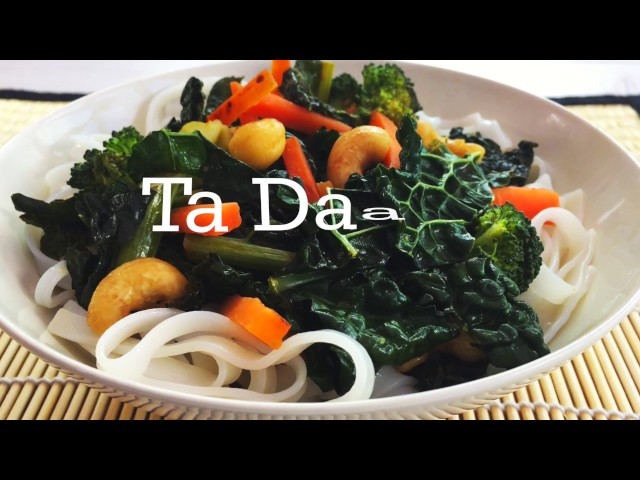 Video of Cavolo Nero, Noodle & Miso Stir Fry