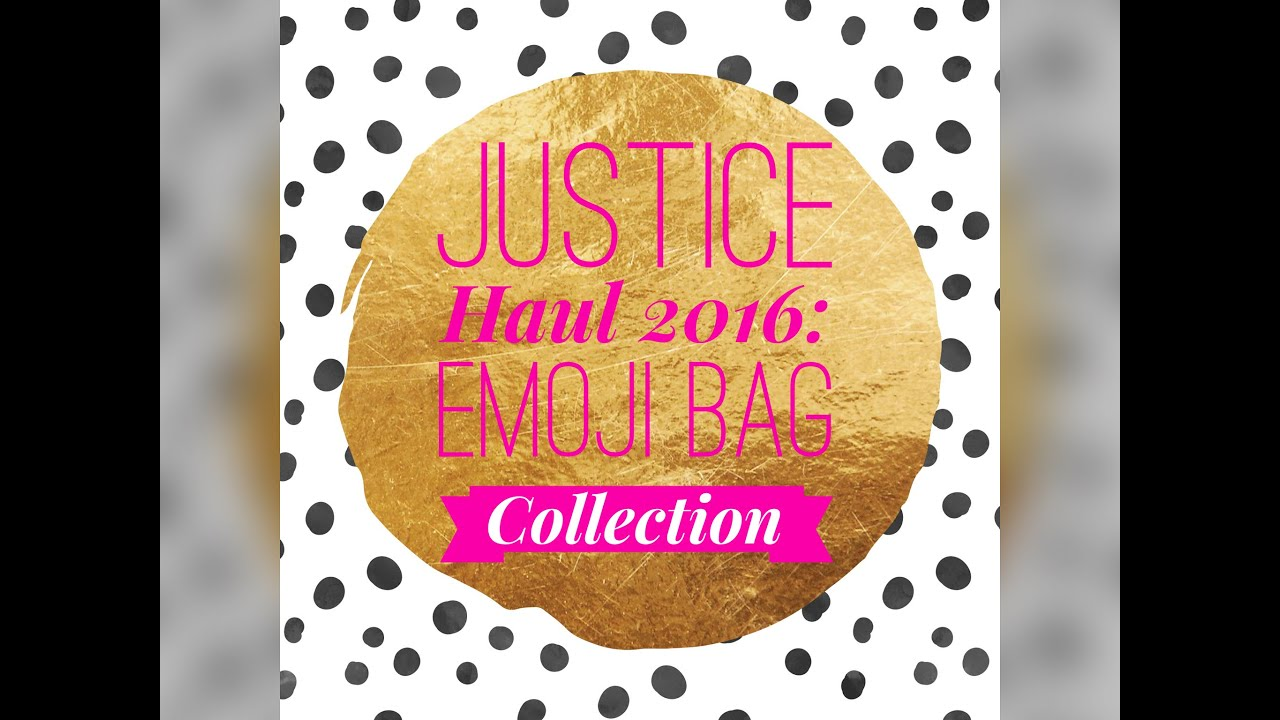 5f5c27ee327e ... Backpacks Target  the best attitude 24c9d 29492 Justice Haul 2016 Emoji  Collection Duffle