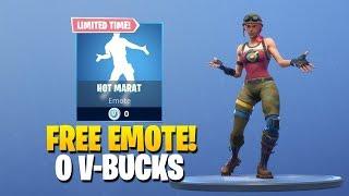 *NEW* FREE DANCE EMOTE 'HOT MARAT' 0 V-BUCKS! Fortnite Item Shop November 24