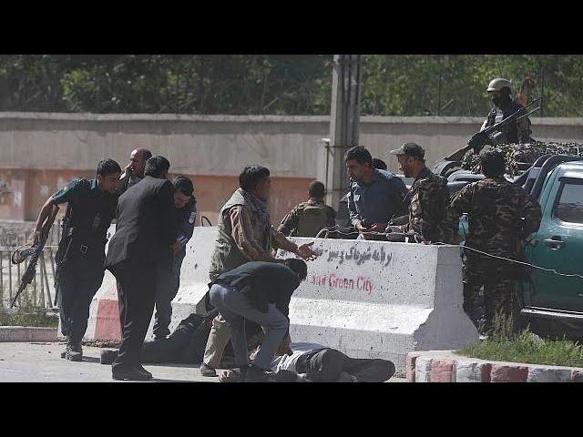 Afghanistan: over 20 dead as blasts shake Kabul morning rush hour